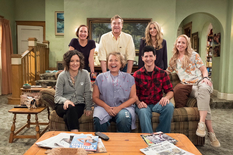 ROSEANNE returns to ABC on April 3rd