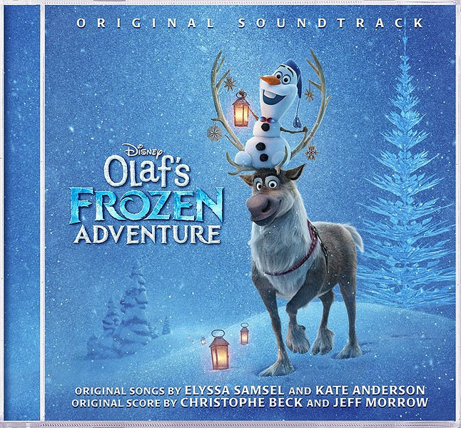 Pre-order OLAF'S FROZEN ADVENTURE soundtrack with four new original songs