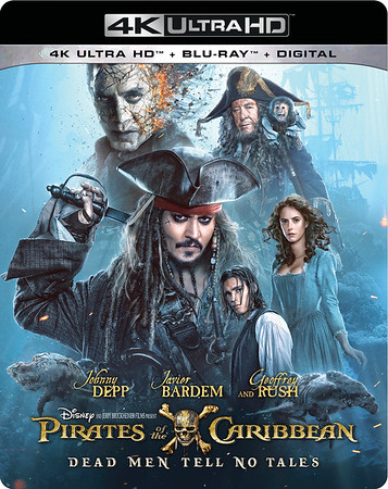 Bring home swashbuckling fun with PIRATES OF THE CARIBBEAN: DEAD MEN TELL NO TALES