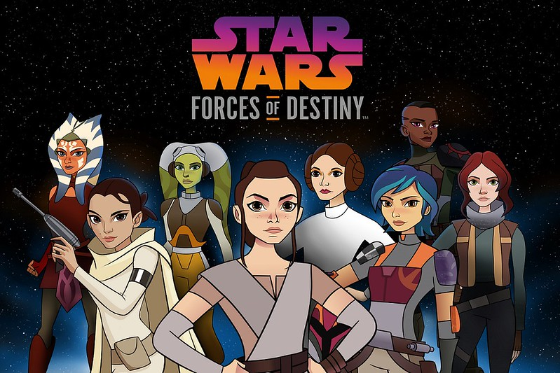 Star Wars FORCES OF DESTINY to air on Disney Channel