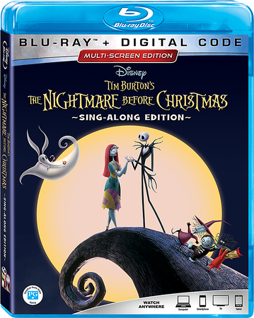 NIGHTMARE BEFORE CHRISTMAS 25th Anniversary Edition is a Sing-Along