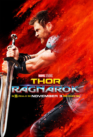 Celebrate THORSDAY with new THOR:RAGNAROK posters and tickets now on sale!