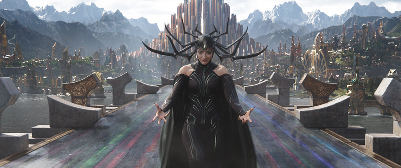 """""""Hela"""" good time with Cate Blanchett in THOR RAGNAROK"""