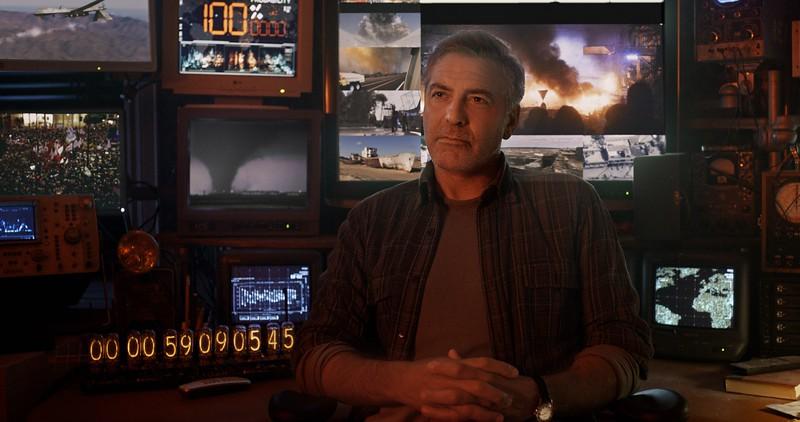 Disney's TOMORROWLAND<br /> <br /> Frank (George Clooney)<br /> <br /> Ph: Film Frame<br /> <br /> ©Disney 2015