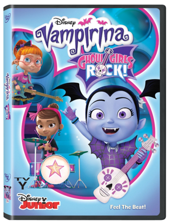 MOMS REVIEW: It's Time To Find Your Inner Ghoul With VAMPIRINA: GHOUL GIRLS ROCK!