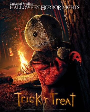 TRICK 'R TREAT invites you to cute yourself to death at Unviersal Halloween Horror Nights!