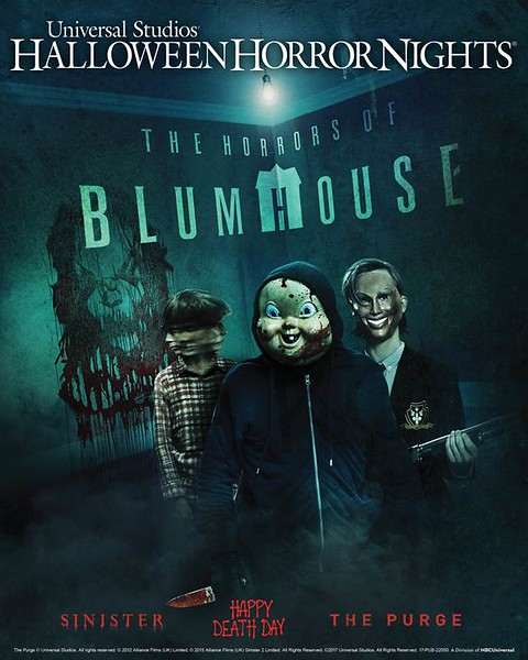 'The Horrors of Blumhouse' takes possession of Universal Halloween Horror Nights on both coasts