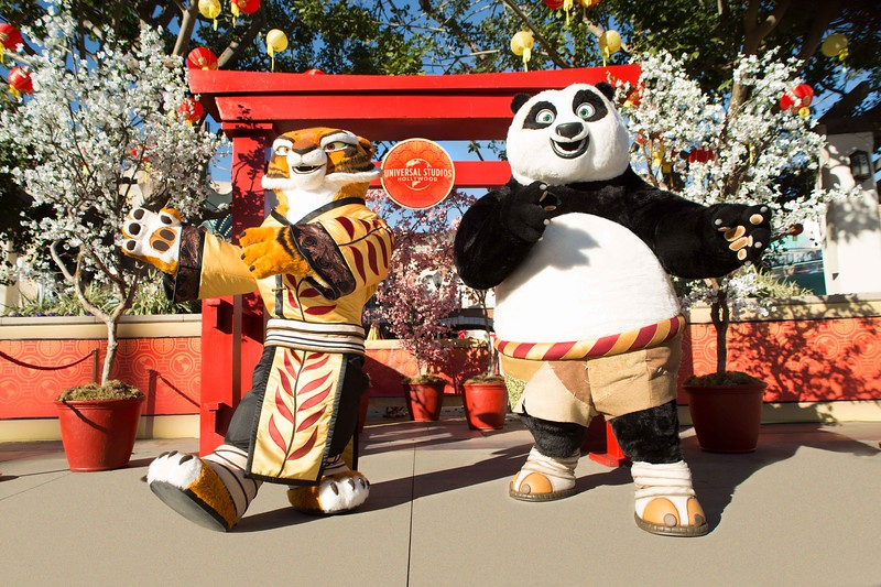 Lunar New Year at Universal Hollywood includes new Kung Fun Panda experiences, Hello Kitty, Minions