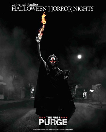 THE FIRST PURGE will cleanse Universal Studios Hollywood Halloween Horror Nights