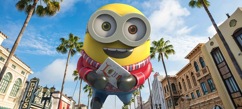 Universal's Holiday Parade featuring Macy's will dazzle guests during their Holiday Visit
