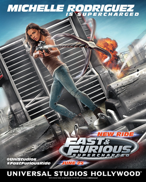Fast & Furious - Supercharged @ Universal Studios Hollywood, Opening June 25