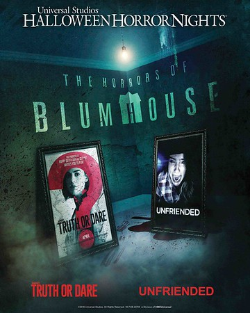 Chat rooms and 'Truth or Dare' games both become deadly in THE HORRORS OF BLUMHOUSE at Universal Studios