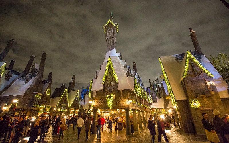 Christmas in The Wizarding World of Harry Potter is a magical way to celebrate at Universal Studios Hollywood