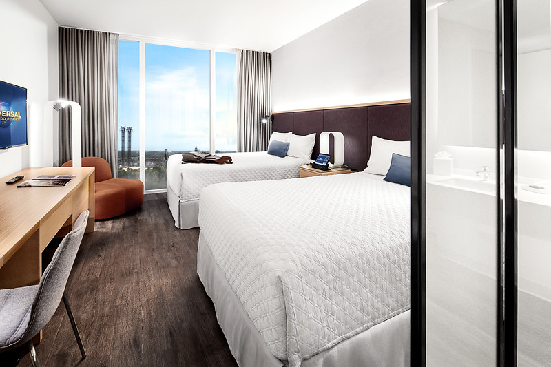 Universal's Aventura Hotel officially open bringing mid-range lodging to Orlando