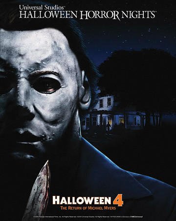 HALLOWEEN 4: THE RETURN OF MICHAEL MYERS takes a stab at dual cost Halloween Horror Nights