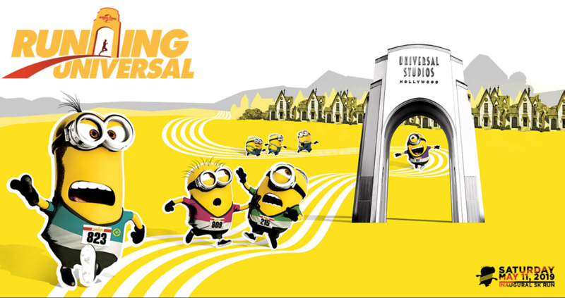 MINION RUN 5K launches new RUNNING UNIVERSAL series at Universal Studios Hollywood