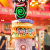 Voodoo Doughnut will open this spring at Universal CityWalk, Universal Orlando Resort's entertainment and dining complex. Loved for its sinfully delicious, delightfully weird lineup of fried creations, Voodoo Doughnut will feature signature originals and one-of-a-kind delectables such as the Dirt Doughnut, the Bacon Maple Bar, Grape Ape and, of course, Voodoo Doll doughnuts.