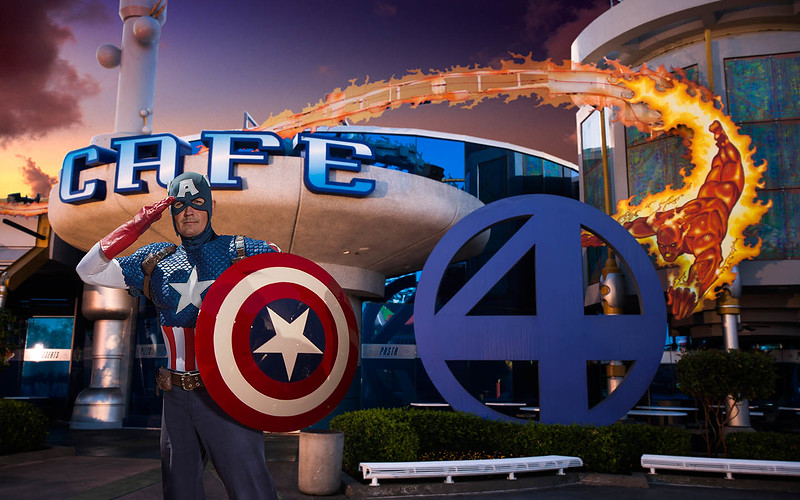 Dine with Cap, Spider-Man, and more Marvel heroes… at Universal Orlando!