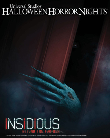 Journey 'Beyond the Further' in new INSIDIOUS 4 maze at Universal Hollywood's Halloween Horror Nights