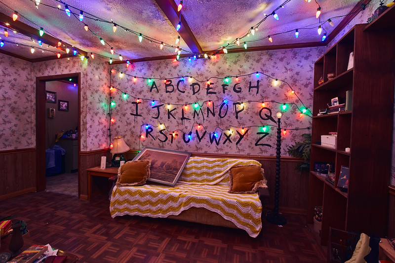 First look at STRANGER THINGS maze unveils hyper-detailed experience