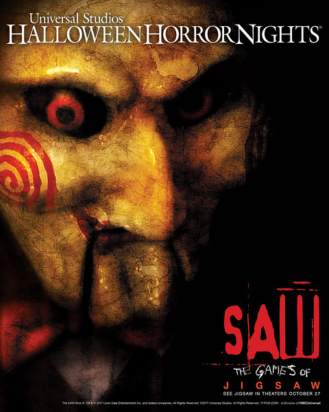 """SAW"" returns to Halloween Horror Nights 2017"
