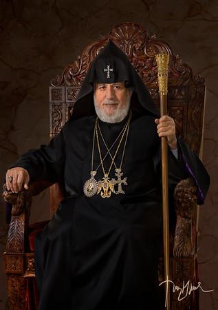 His Holiness Karekin II, Supreme Patriarch and Catholicos of All Armenians