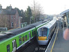 The 1105 Connolly - Sligo leaves Maynooth on its maiden voyage. Wed 19.12.07