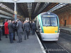 Platform 3 is a buzz of activity. Wed 19.12.07