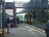 Six minutes after arriving from Limerick and detacting 2710 + 2709, 2720 + 2721 departs for Ballybrophy. Mon 01.09.08