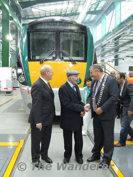 Official Opening of Laois Traincare Depot