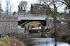 The new railway bridge over the Royal Canal at Clonsilla. Sat 20.03.10