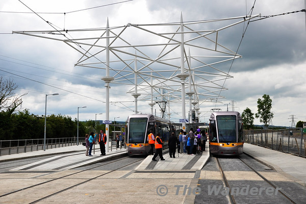 The LUAS Suggart Extension Opens: Saturday 2nd July 2011