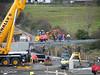 Awbeg River Bridge renewal at the 136 1/4 Mile Post near Buttevant on the Dublin - Cork line. Sun 30.10.11