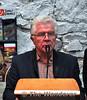 Michael Guerin introduces Minister Jimmy Deenihan T.D to launch the book. Sun 24.11.13