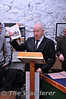 Minister Jimmy Deenihan T.D. The North Kerry Line book launch at Listowel's Lartigue Monorail Museum. Sun 24.11.13