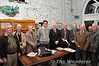 Dr. Alan O'Rourke, local dignitaries and former C.I.E. staff of the North Kerry line at the book launch of Dr. O'Rourke's new book. Sun 24.11.13