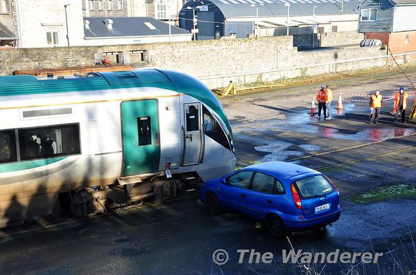 Emergency Exercise at Longford Station. Sunday 23rd November 2014