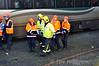 Injured passenger. Emergency exercise at Longford. Sun 23.11.14