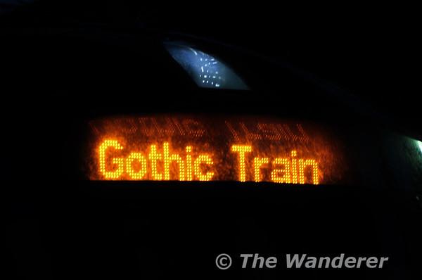 Underground Gothic. Sunday 26th October 2014