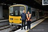 District Traction Executive Mick Collins and Driver Cecil Ryan pose in front of 2801 before working the special to Castleconnell. Tues 28.08.18