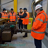 International Railway Safety Council visit to Laois Traincare Depot. Fri 26.10.18. <br /> <br /> Photo courtesy of Kieran Marshall.