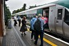 Intending custom at Portlaoise for the 1018 Portlaoise - Heuston Special was poor with only 22 passengers presenting for travel. The Special would serve Portarlington and Monasterevin before going fast to Heuston. Sun 26.08.18