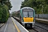 22053 + 22044 depart from Portlaoise with a lightly loaded 1018 Spl. to Heuston. Sun 26.08.18