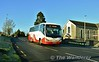 SC270 passes the Church Of The Holy Spirit at Youghalara with the route 323 1100 Limerick Bus Station - Drummin Village, Nenagh. Sun 03.01.20