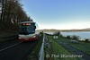For the first service from Limerick, SC270 was provided for the 1100 Limerick Bus Station - Drummin Village Nenagh. The bus is pictured passing The Lookout between Ballina and Portroe. Sun 03.01.20