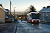 SC231 climbs the hill in Portroe Village with the 0857 Drummin Village, Nenagh - Limerick Bus station. Sun 03.01.20