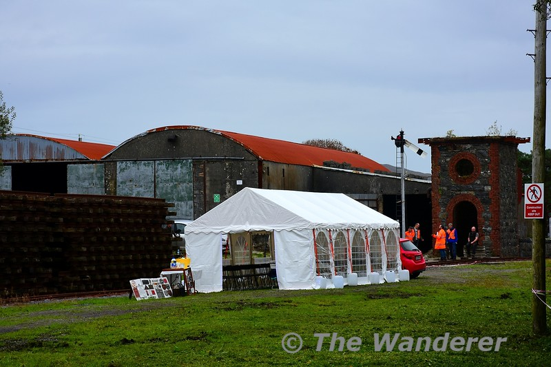 The marquee at Maam Cross. Sat 18.09.21