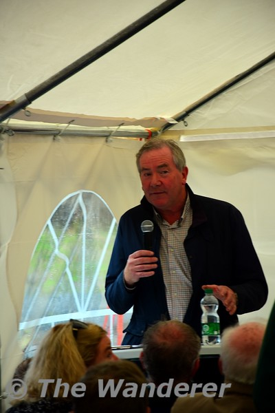 Jim welcomes everybody to the book launch, Sat 18.09.21