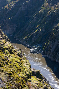 Page 31 - The view looking upstream into Hellgate Canyon.