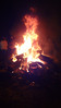 bonfire.  yes, those are barn beams (think railroad tie sized timbers).